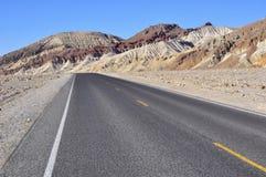 долина дороги смерти Стоковое Фото