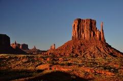 долина индийского парка панорамы navajo памятника соплеменная Стоковые Фото