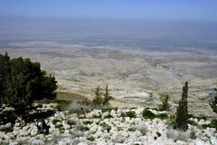 долина Иордана Стоковые Фото