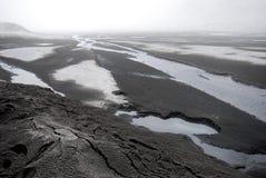 долина Исландии eyjafjallajokull Стоковое Изображение