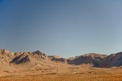 долина ландшафта пожара Стоковое Фото