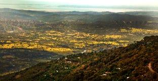 долина ландшафта Стоковое фото RF