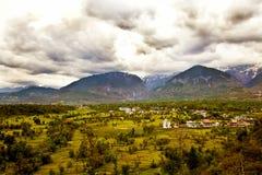 долина ландшафта Стоковое Фото