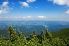 долина ландшафта bicaz Стоковые Изображения