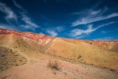 Долина ландшафтов Марса Стоковое фото RF