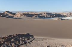 Долина луны - чилеански Стоковое Изображение