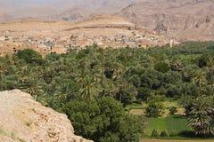 долина Марокко dades Стоковое Изображение