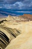 долина национального парка смерти неплодородных почв Стоковое Изображение