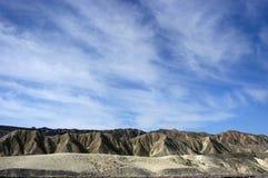 долина национального парка смерти Стоковые Изображения RF