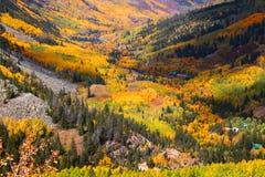 долина осины Стоковое Изображение RF