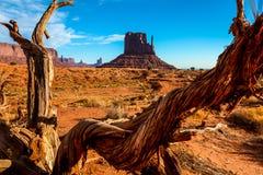 Долина памятника, Аризона Стоковое Изображение RF