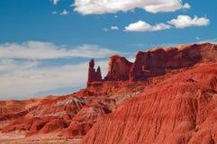 долина памятника Аризоны Стоковые Фотографии RF