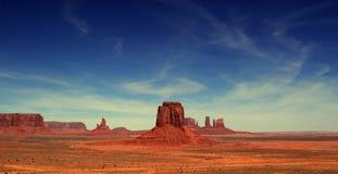 долина памятника Аризоны Стоковые Изображения