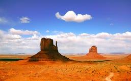 долина памятника ландшафта Аризоны красивейшая Стоковое Изображение RF