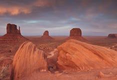 долина памятника ландшафта Стоковое фото RF