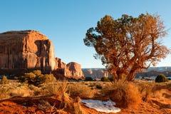 долина памятника ландшафта Стоковые Изображения RF