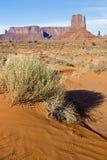 долина памятника пустыни Стоковые Фотографии RF