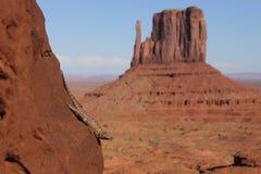 Долина памятника, США Стоковое Изображение