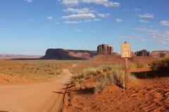 Долина памятника, США Стоковое Изображение RF