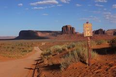 Долина памятника, США Стоковое фото RF