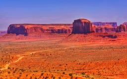 Долина памятника, Юта, США Стоковая Фотография