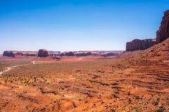 Долина памятника Стоковое Изображение RF