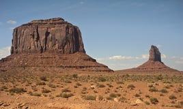 долина памятника Стоковые Изображения