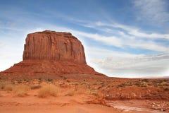 долина памятника merrick butte Аризоны Стоковые Изображения RF