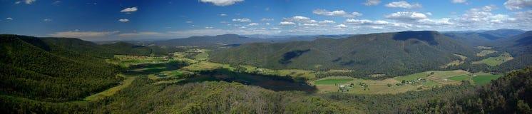 долина панорамы короля Стоковые Изображения RF