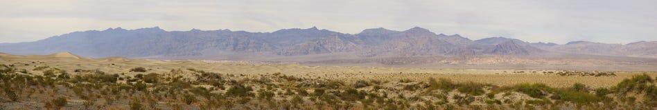 долина панорамы смерти Стоковая Фотография