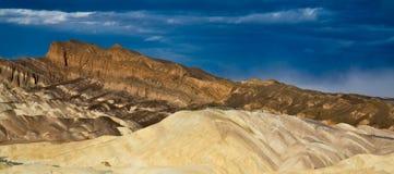 долина панорамы смерти стоковые изображения rf