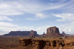 долина парка navajo памятника соплеменная Стоковое Изображение