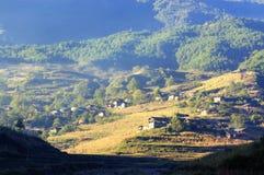 долина пейзажа Стоковое Изображение RF