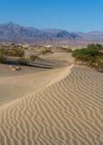 долина песка дюн смерти Стоковое Изображение