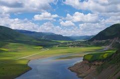 Долина плато Стоковые Изображения