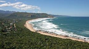 долина природы s пляжа одичалая стоковые изображения rf