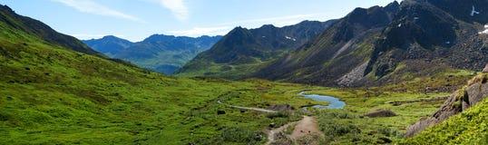 долина пропуска hatcher archangel Аляски Стоковые Изображения