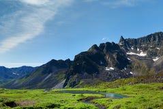 долина пропуска hatcher archangel Аляски Стоковое Изображение RF