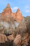 Долина розы в Cappadocia стоковые изображения