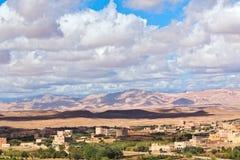 долина роз Марокко Стоковое Изображение