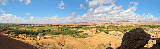 долина роз Марокко Стоковые Изображения RF