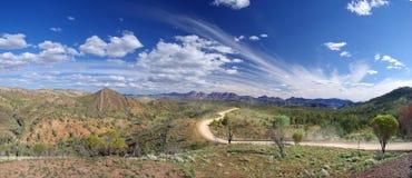 долина рядов flinders bunyeroo Стоковая Фотография