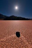 долина следа гонки национального парка смерти Стоковое Изображение