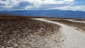 долина смерти неплодородных почв стоковая фотография rf