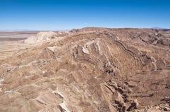 долина смерти Чили Стоковые Фотографии RF