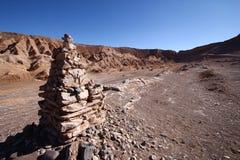 долина смерти Чили Стоковые Фото