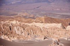 долина смерти Чили Стоковое Изображение RF