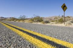 долина смерти Стоковая Фотография