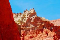 ДОЛИНА СОБОРА, в национальном парке рифа капитолия, Юта стоковые изображения rf