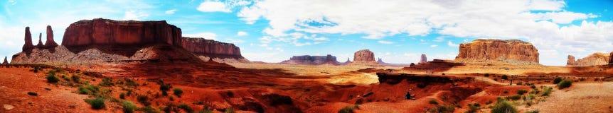 Долина США памятника Стоковая Фотография